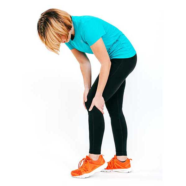 Lady with Knee pain at East Gosford physio