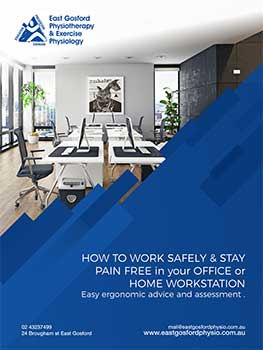 ergonomics ebook- working safely from your home or office workstation
