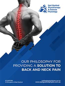 Back and Neck Pain e-book cover- Author is a Central Coast Physio