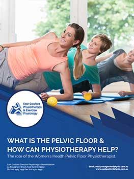 pelvic floor ebook cover , Women's Health Physio on Central Coast