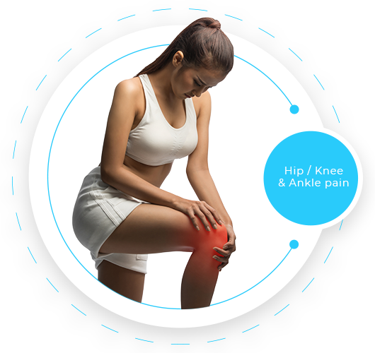 Knee/ Hip problems and pain at EAST GOSFORD PHYSIO