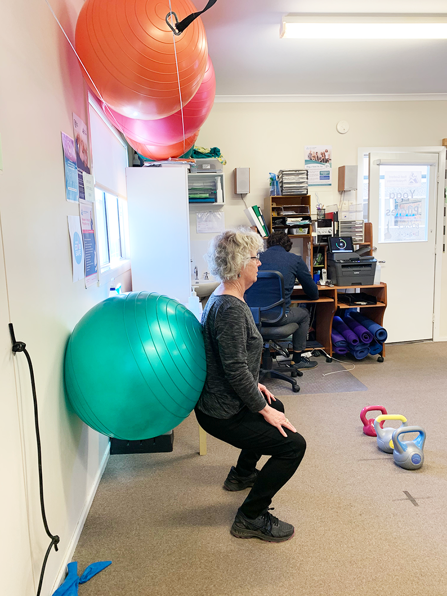Keep moving class in East Gosford - Physio class for balance and strength