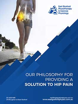 Central coast physio hip pain ebook cover