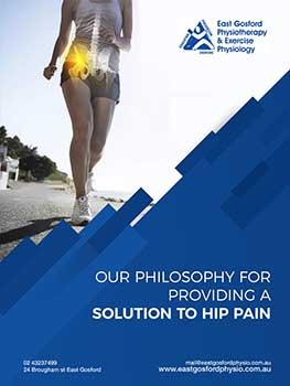 Central coast physio hip pain ebook cover