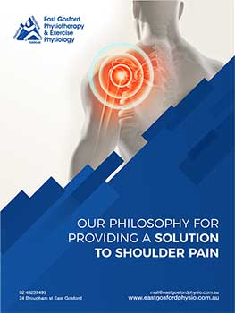 shoulder pain Ebook at East Gosford Physio